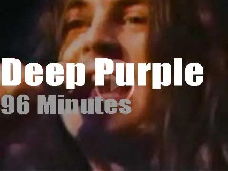 Deep Purple rock Copenhagen (1972)