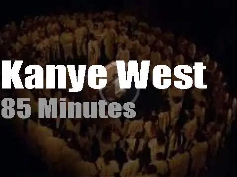During Paris Fashion Week, Kanye West holds a 'Sunday Service' (2020)