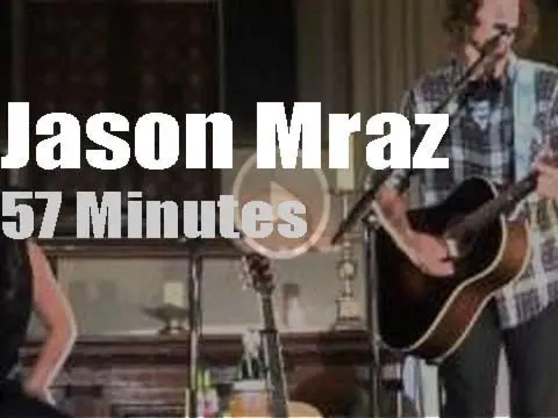 Jason Mraz presents his new album in London (2012)