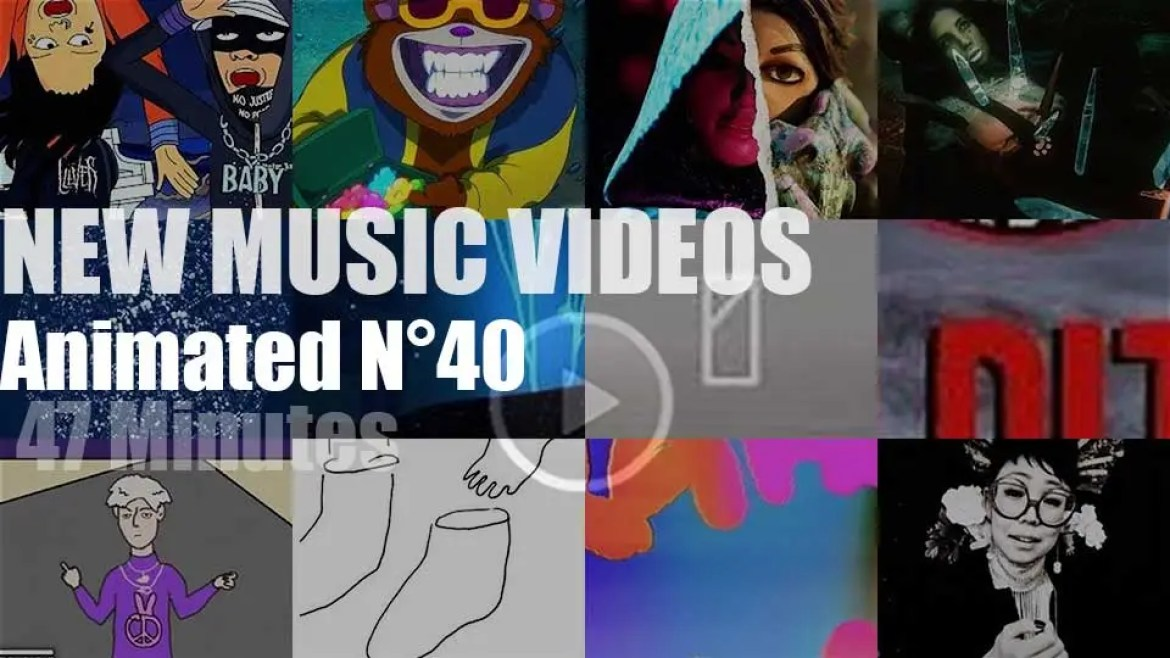 New Animated Music Videos N°40