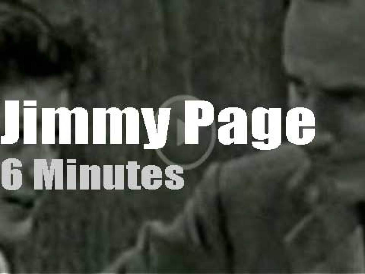 On British TV today, young Jimmy Page plays skiffle (1957)