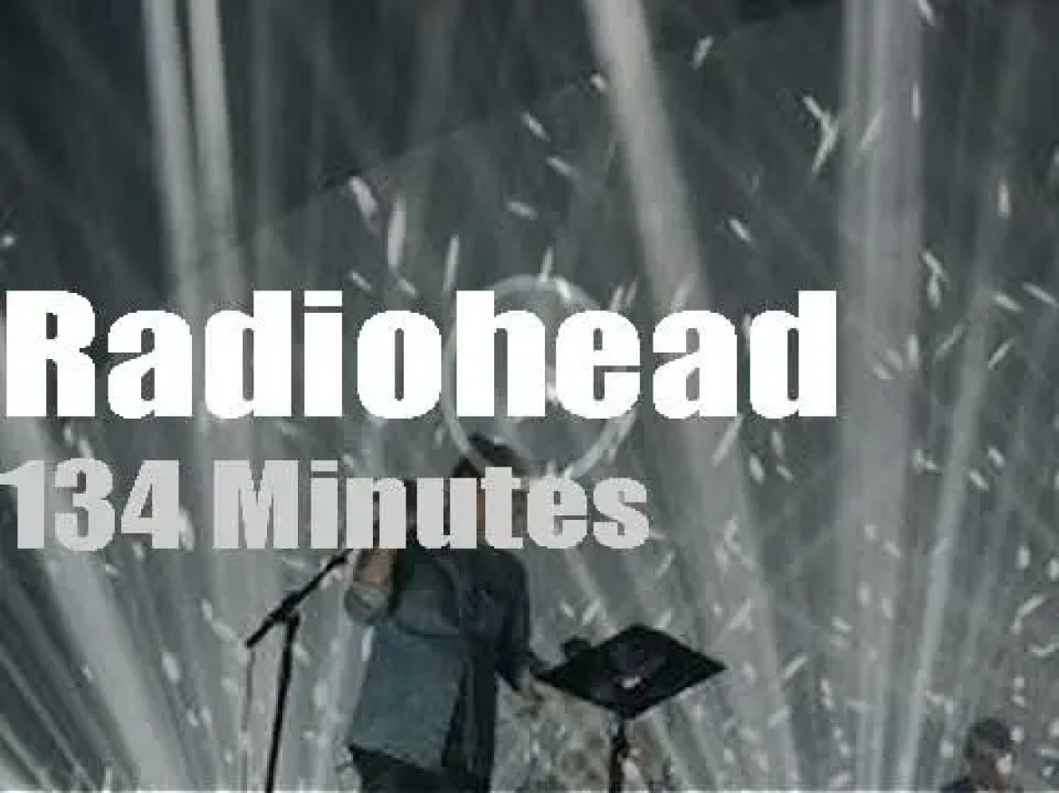 Radiohead bring 'A Moon Shaped Pool' to Seattle (2017)