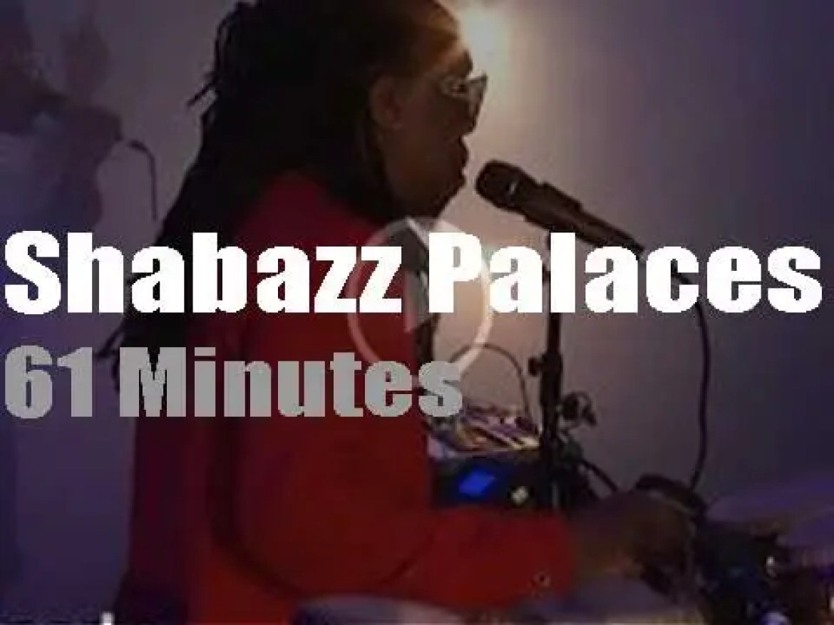 Shabazz Palaces perform in DC (2018)