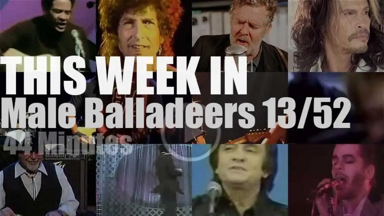 This week In Male Balladeers 13/52