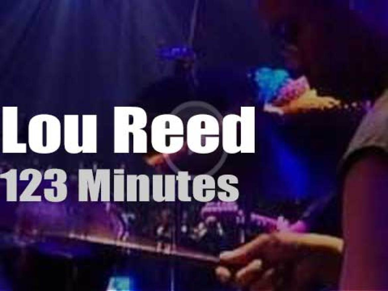 German TV tapes Lou Reed (2000)