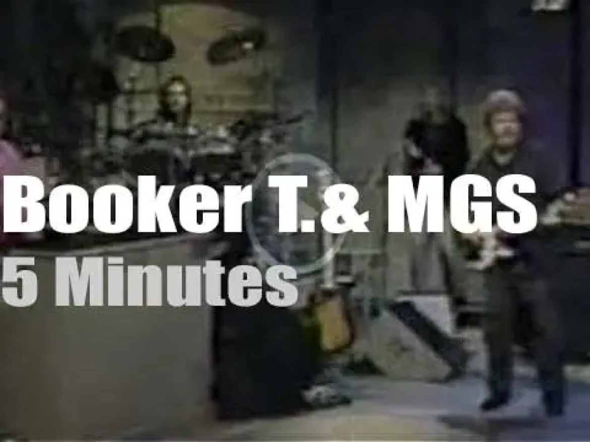 On TV today, Booker T., the MGs and David Letterman (1991)