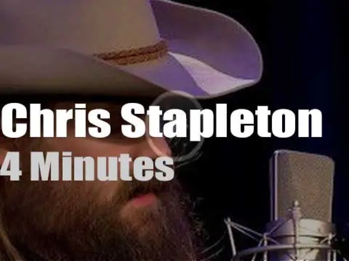 On TV today, Chris Stapleton with Charlie Rose (2017)
