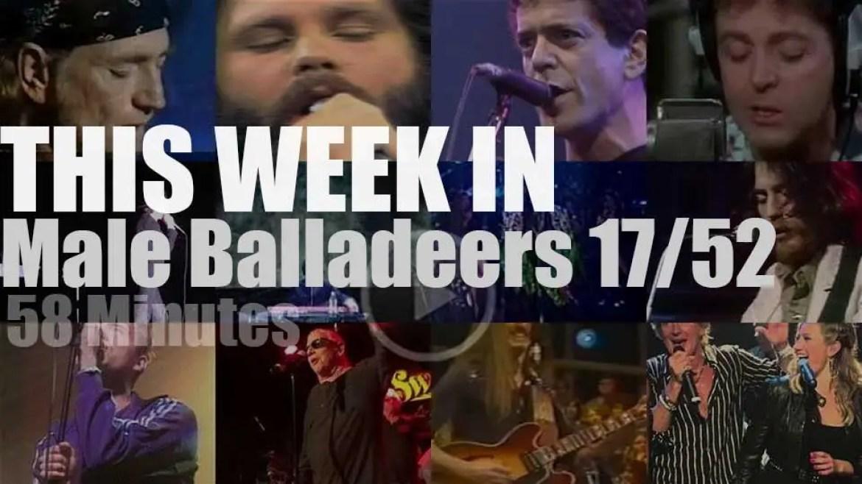 This week In Male Balladeers 17/52