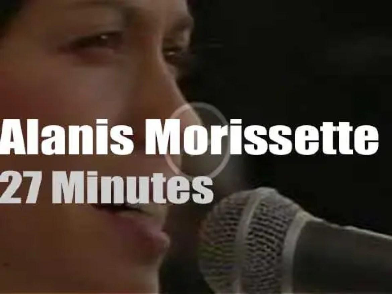 Alanis Morissette sings for 'Tibetan Freedom' (1997)