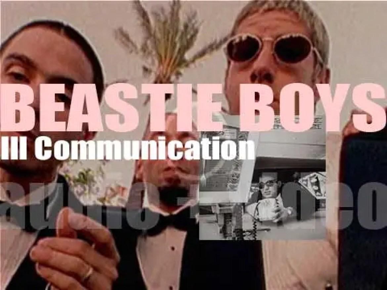 Beastie Boys release  their fourth album : 'Ill Communication' featuring 'Sabotage' (1994)