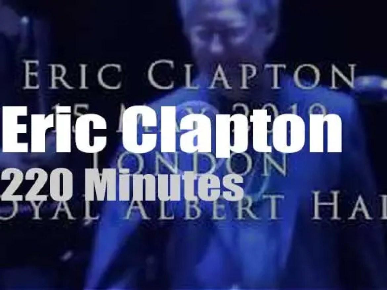Eric Clapton comes back to Royal Albert Hall (2019)