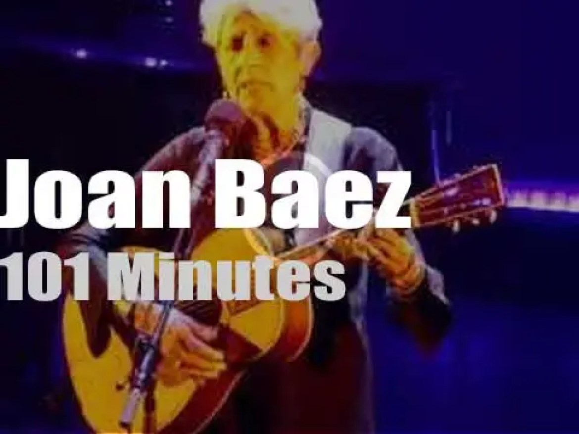 Joan Baez says 'Fare Thee Well' to Paris (2018)