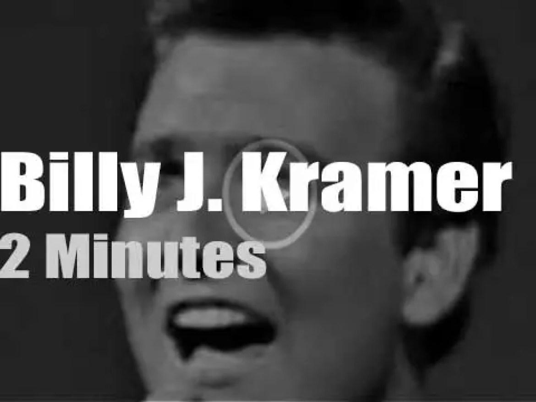 On TV today, Billy J. Kramer With The Dakotas and Ed Sullivan (1964)