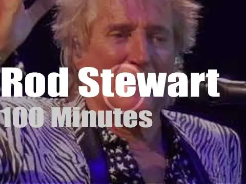 Rod Stewart travels to Sweden (2017)