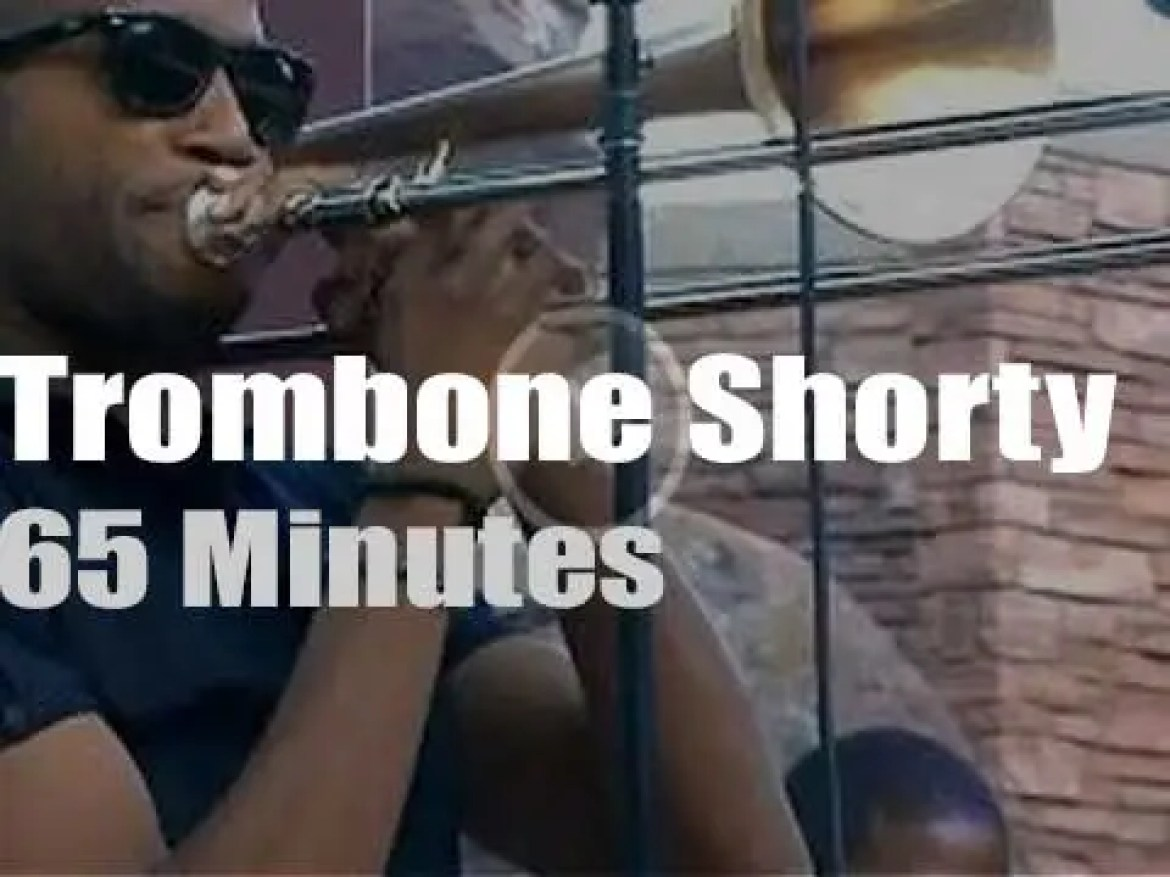 Trombone Shorty and Orleans Avenue visit Red Rocks (2013)