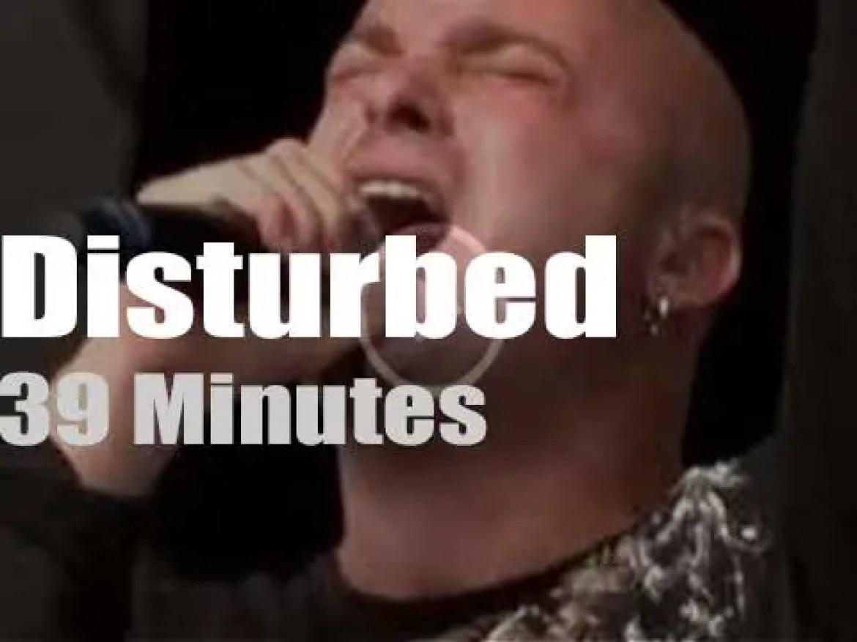 Disturbed attend 'Rock am Ring' (2008)