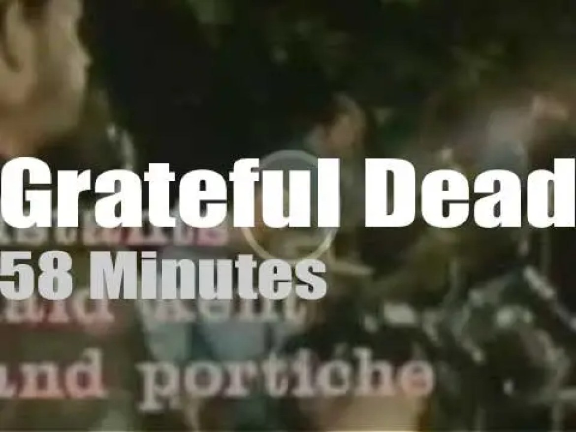 Grateful Dead rock a French Chateau (1971)