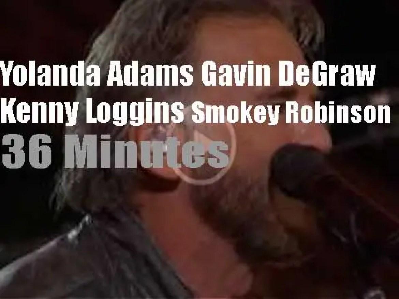 On TV today, Kenny Loggins, Smokey Robinson et al at 'A Capitol Fourth' (2016)