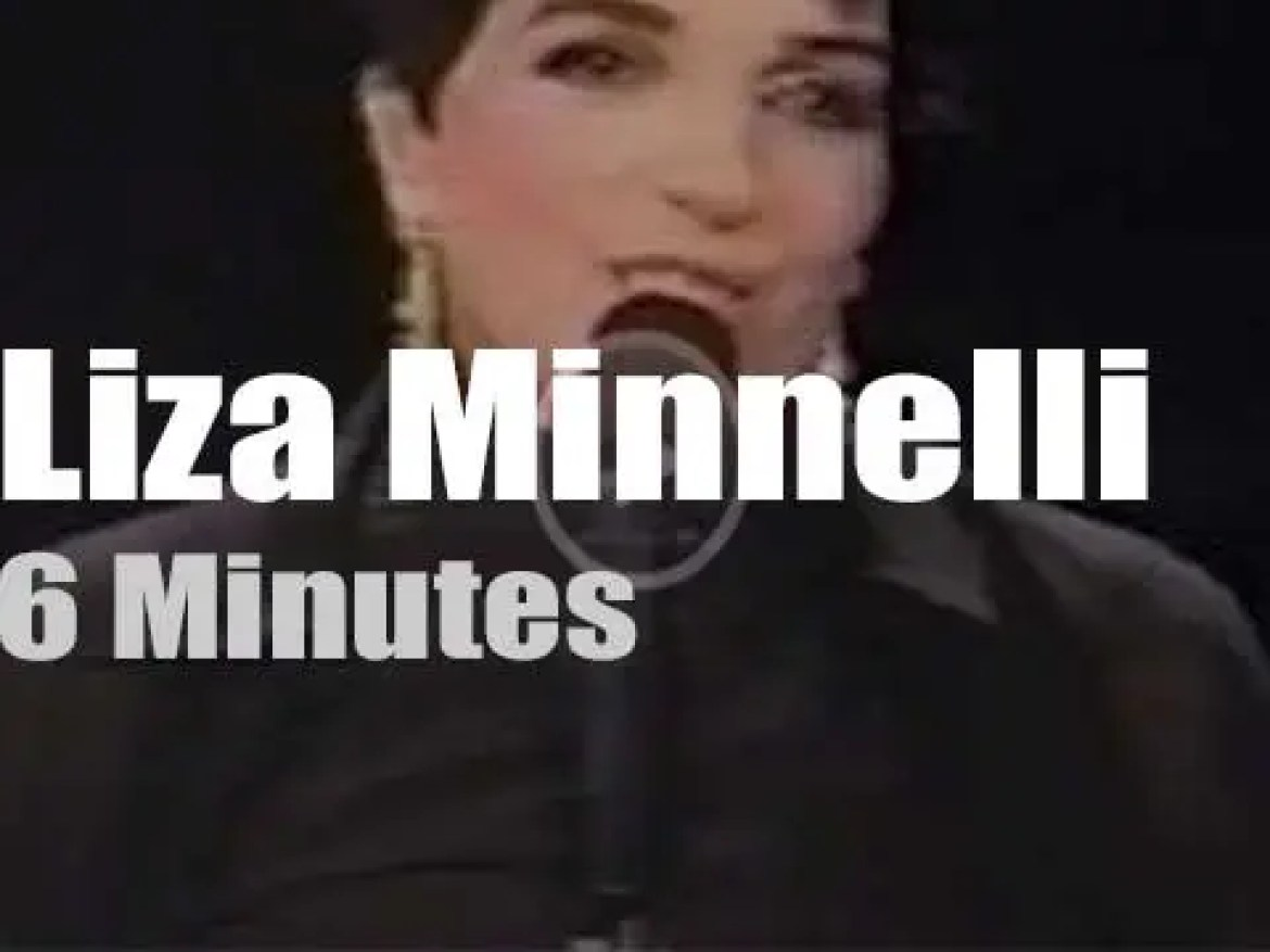 On TV today, Liza Minnelli with Rosie O'Donnell (1997)