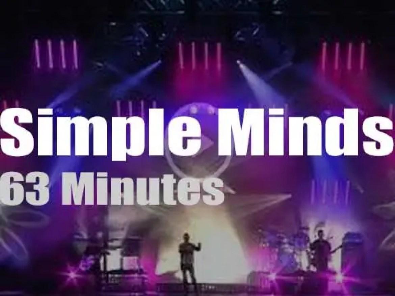 Simple Minds attend an Austrian festival (2012)