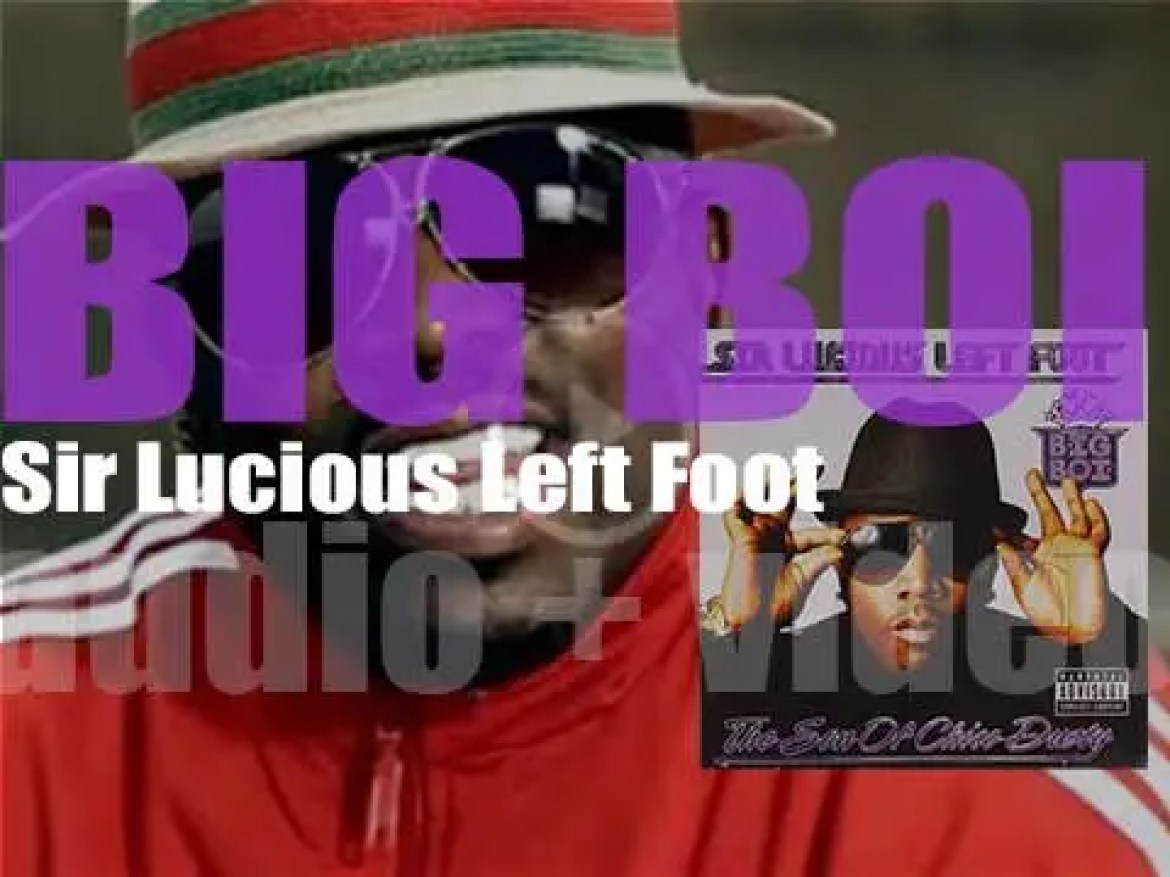 Big Boi releases his debut solo album : 'Sir Lucious Left Foot: The Son of Chico Dusty' (2010)
