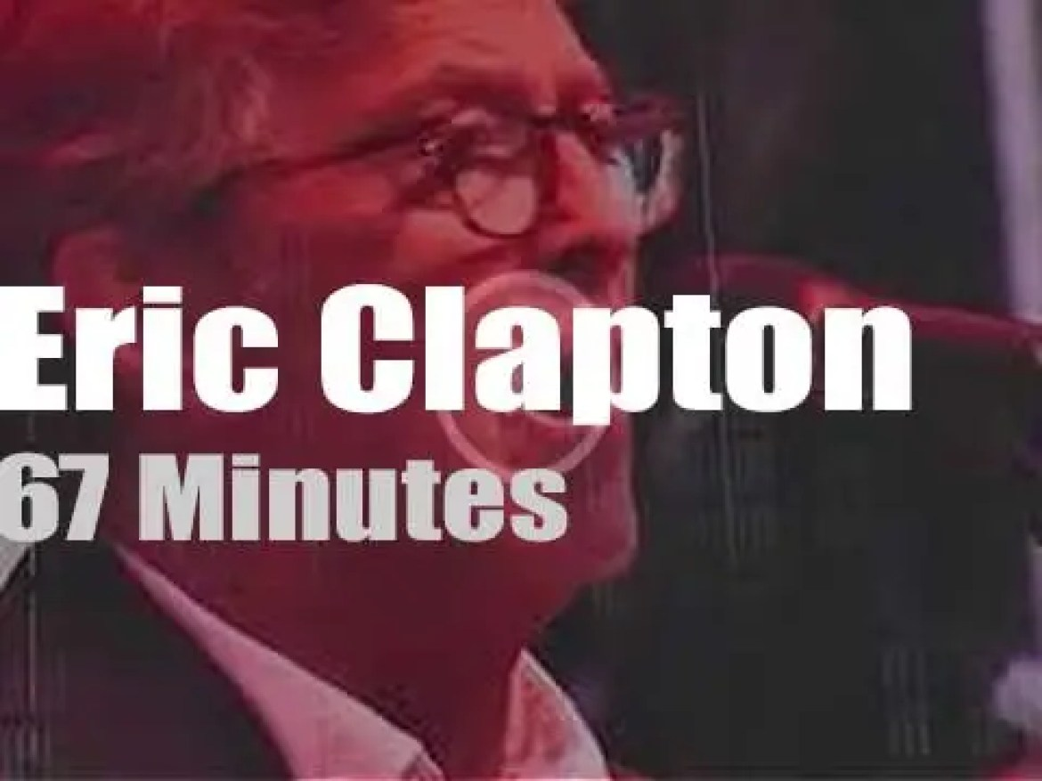 Eric Clapton has the best birthday gift for his cricketer buddy  (2015)
