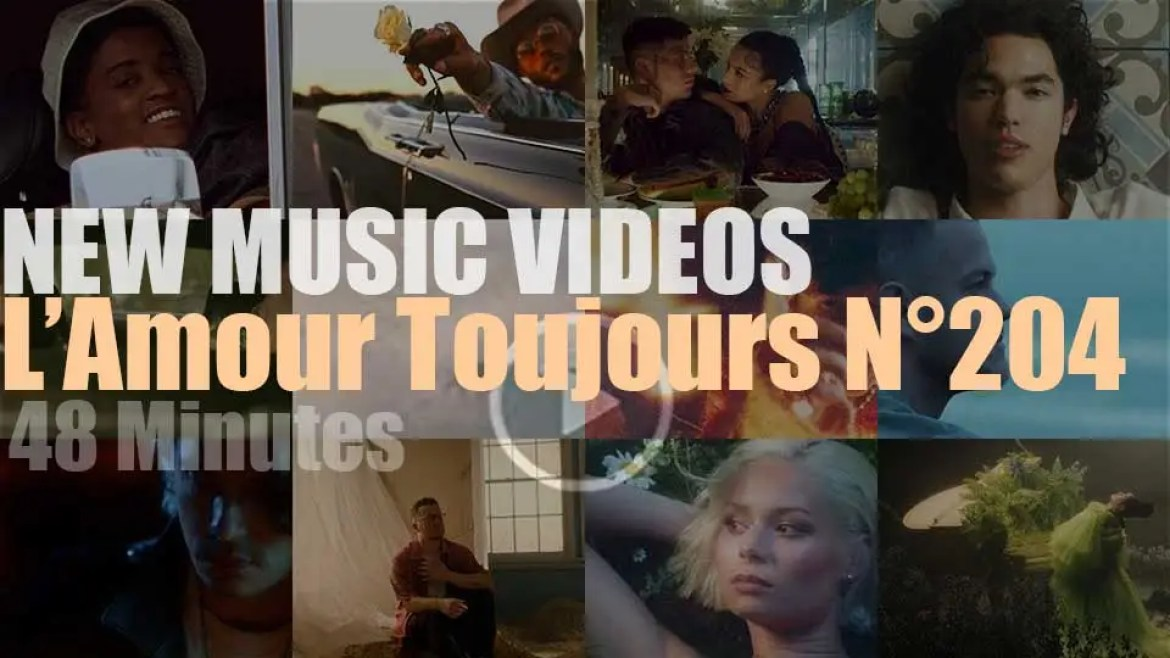 'L'Amour Toujours'  N°204 – New Music Videos