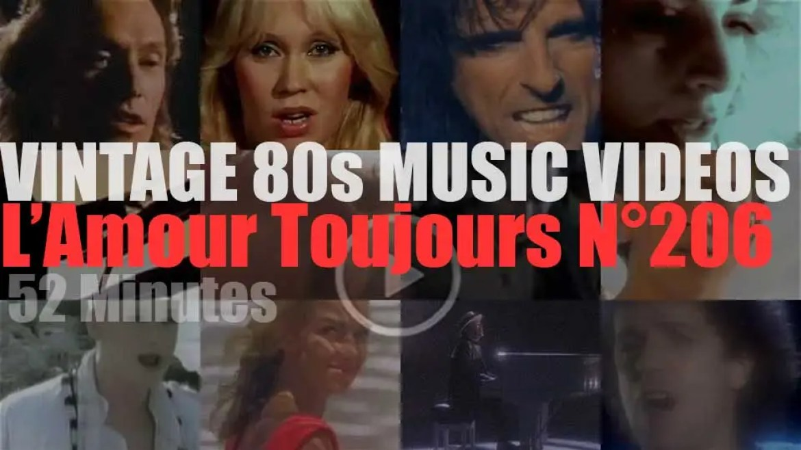 'L'Amour Toujours'  N°206 – Vintage 80s Music Videos