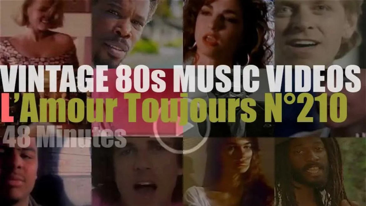 'L'Amour Toujours'  N°210 – Vintage 80s Music Videos