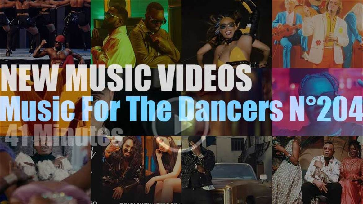 'Music For The Dancers' N°204 – New Music Videos