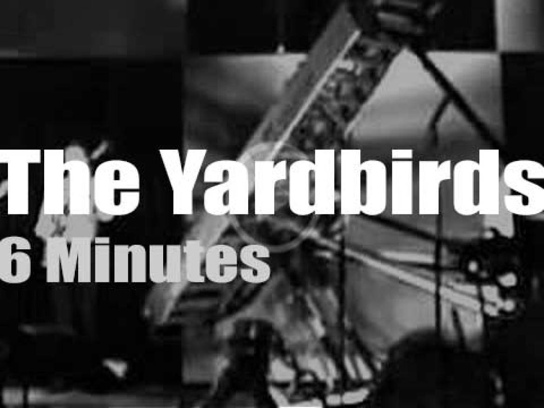 On British TV today, The Yardbirds on Granada (1964)