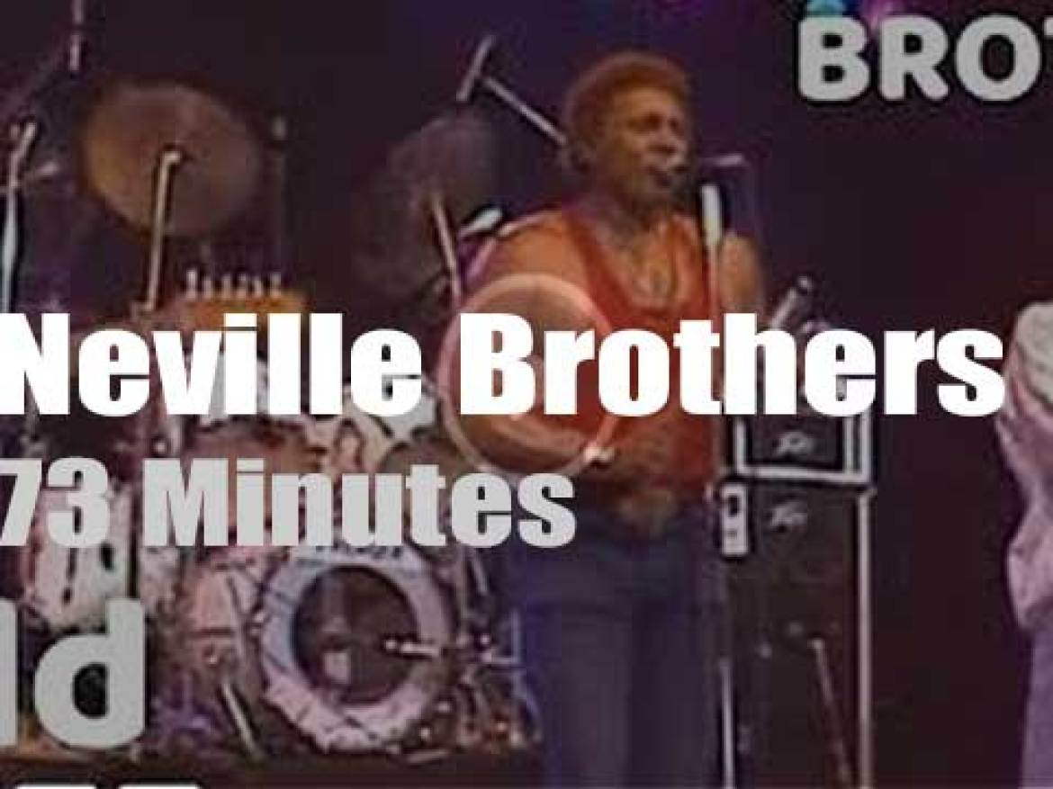 The Neville Brothers perform at North Sea Jazz (1986)