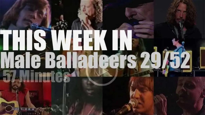 This week In Male Balladeers 29/52