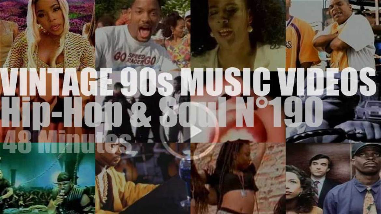 Hip-Hop & Soul N°190 – Vintage 90s Music Videos