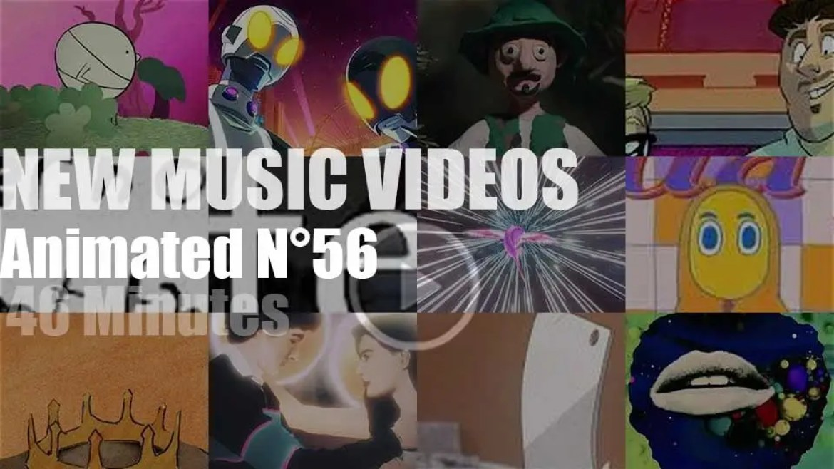 New Animated Music Videos N°56