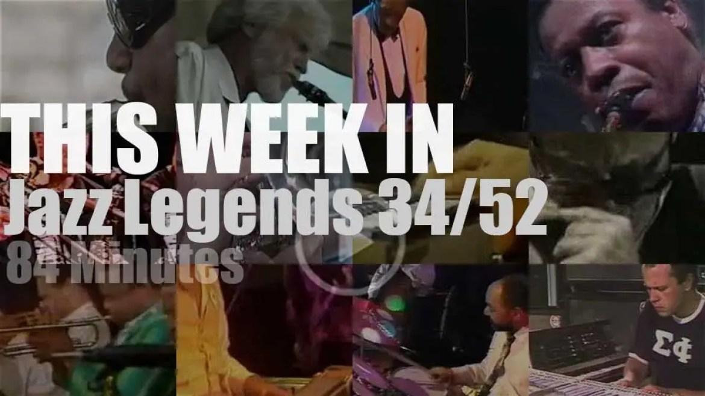 This week In Jazz Legends 34/52