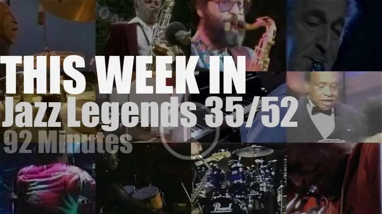 This week In Jazz Legends 35/52