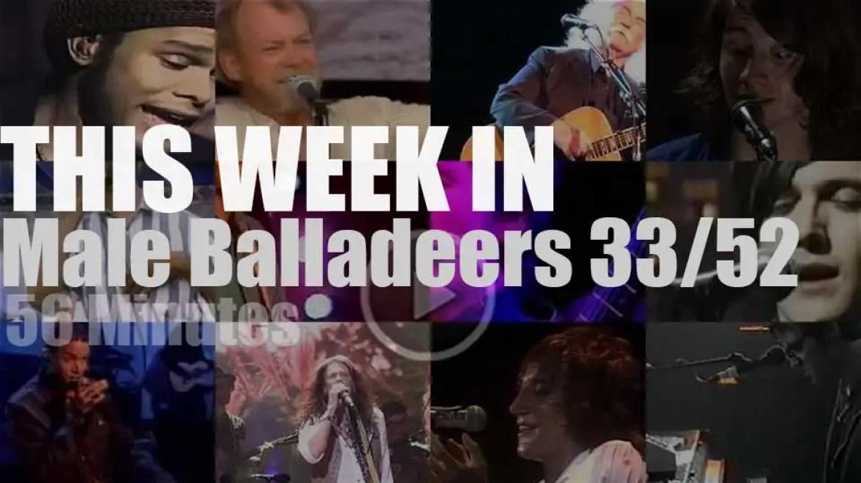 This week In Male Balladeers 33/52