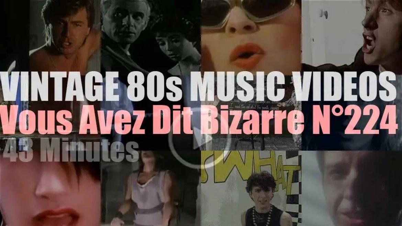 'Vous Avez Dit Bizarre'  N°224 – Vintage 80s Music Videos
