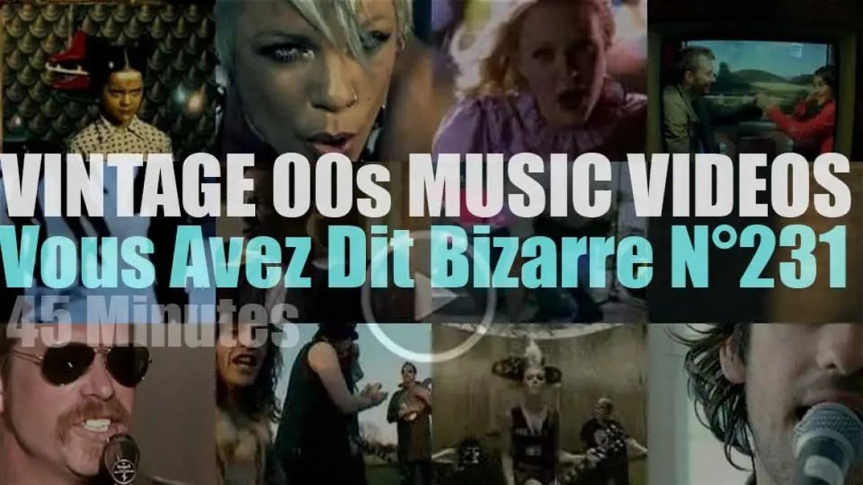 'Vous Avez Dit Bizarre'  N°231 – Vintage 2000s Music Videos
