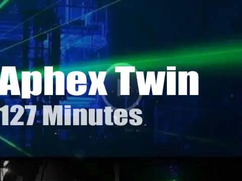 Aphex Twin play in London (2019)