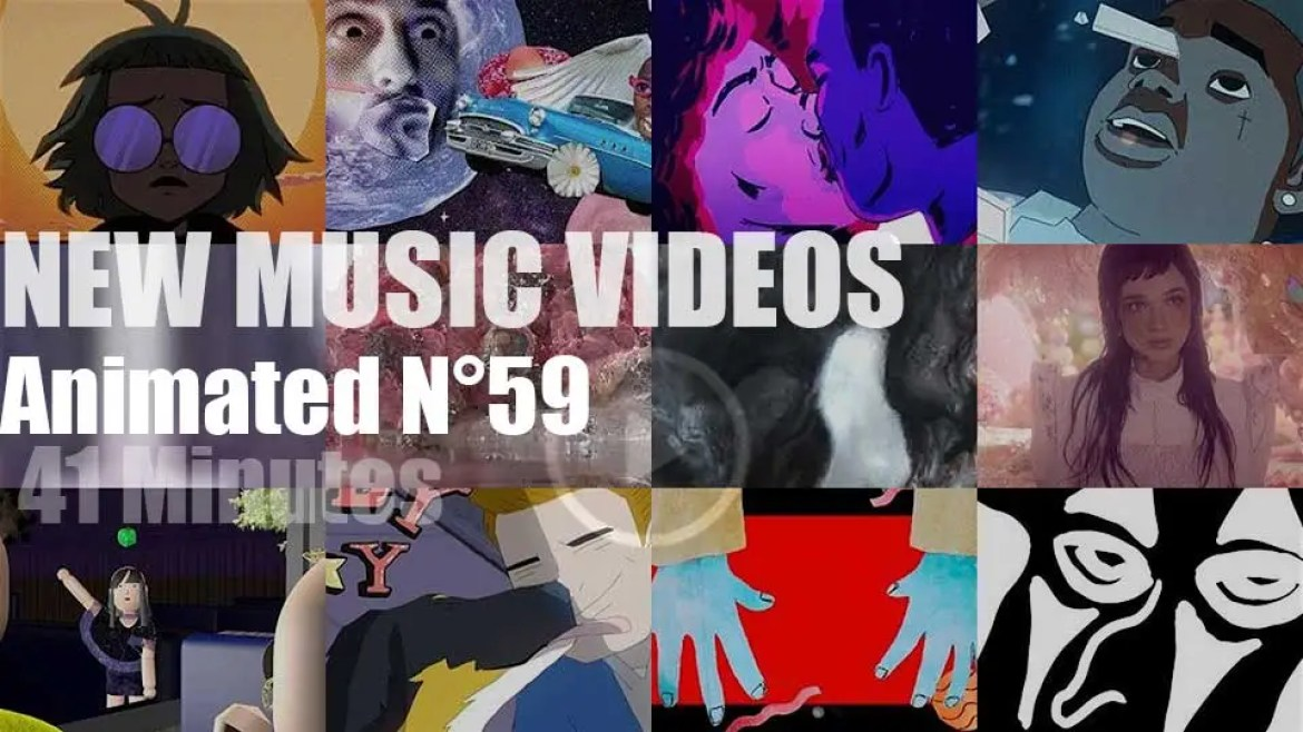 New Animated Music Videos N°59