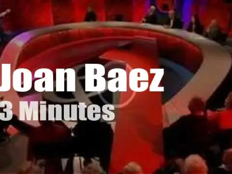 On Australian TV, Joan Baez at 'Q&A' (2015)