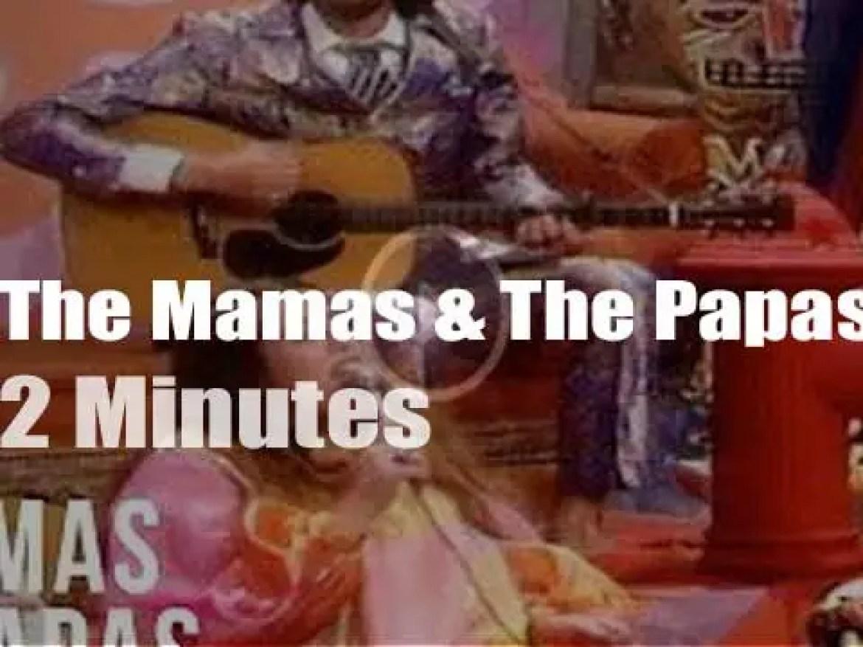 On TV today, The Mamas & The Papas (& a banana) at 'Ed Sullivan Show' (1967)