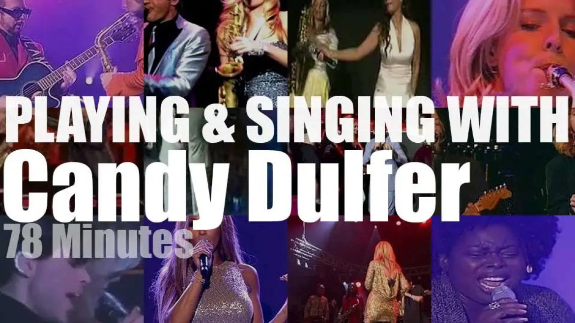 Playing (and Singing)  With Candy Dulfer