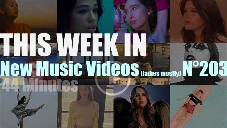 This week In New Music Videos (ladies mostly) N°203