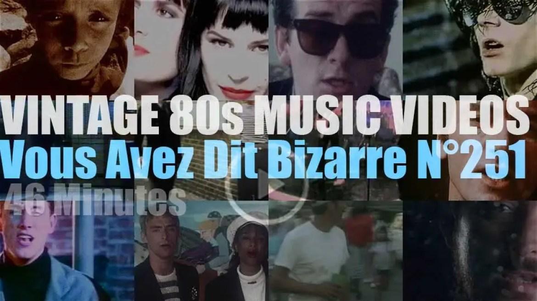 'Vous Avez Dit Bizarre'  N°251 – Vintage 80s Music Videos