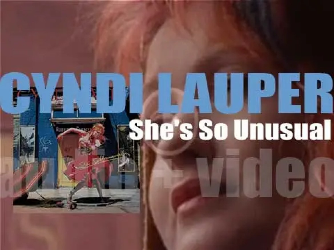 Cyndi Lauper releases her debut album : 'She's So Unusual' featuring 'Girls Just Want to Have Fun,' 'Time After Time' and 'She Bop' (1983)