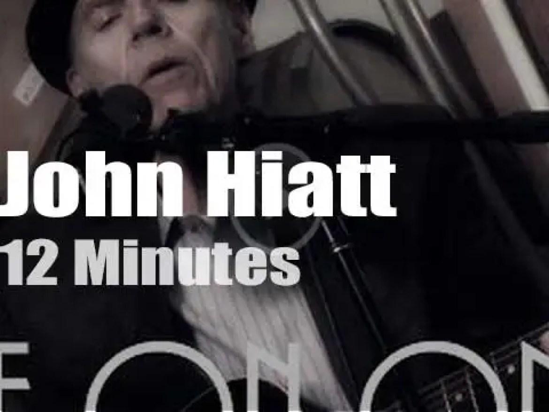John Hiatt sings at a New York Winery  (2014)