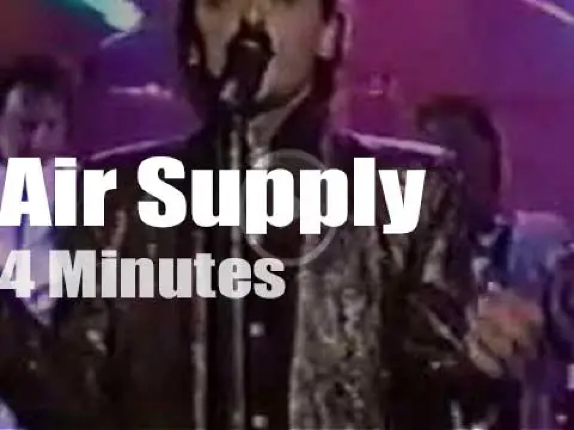 On TV today, Air Supply with Joan Rivers (1986)